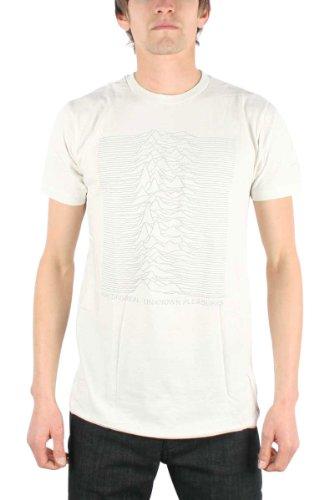 Joy Division - T-Shirt - Uomo Vintage White X-Large