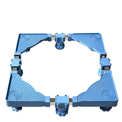 LYQQQQ Base Ajustable retráctil con 8 pies para la Lavadora de refrigerador STENTE Durante DURADA PREVIZACIÓN PREVENIDA DE RECLADO DE Ruido Efecto 50-62x48-60x8-11cm