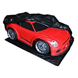 Emmzoe Heavy Duty XL Big Ride-On Car Cover for Kids Electric Vehicles Outdoor Weatherproof Full Protection - Universal Fit, Waterproof UV Rain Snow Protection