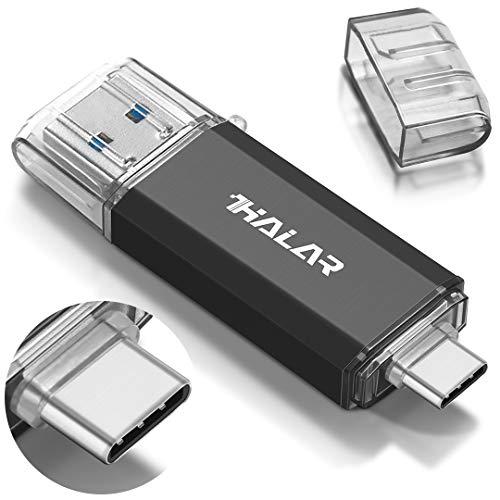 THKAILAR Chiavetta USB 3.0 da 1 TB OTG 2 in 1 Flash Drive USB 3.0 Memory Stick USB Tipo C Flash Drive USB Flash Drive Drive per PC/Laptop/Notebook e altri dispositivi USB (1TB, Black)