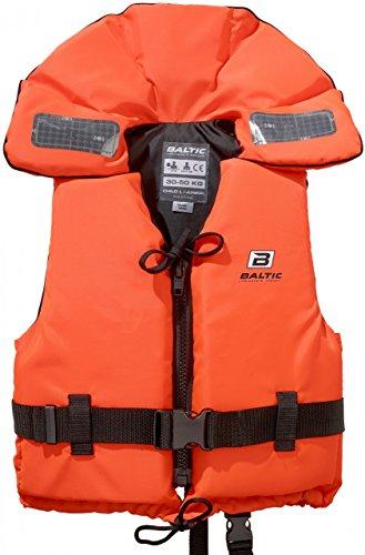 Baltic 100N Rettungsweste Feststoffweste Orange (Mod. 1240) 30 - 50 kg