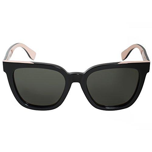 FENDI Sunglasses FF 0121/F/S Mg1/X1-53-20-140 Occhiali da Sole, Nero (Schwarz), 53 Donna