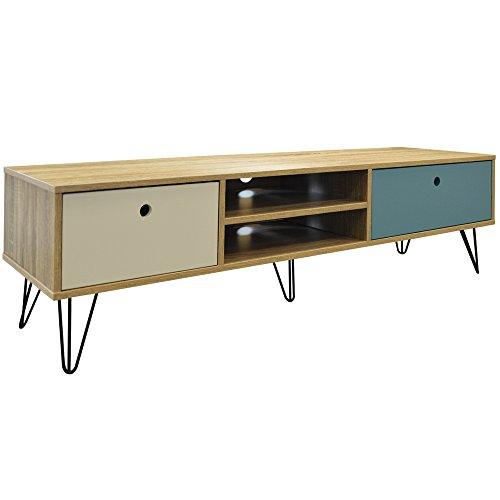 WATSONS Industrial - TV Möbel mit 2 Schubladen - Eiche