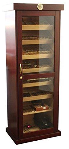 Humidor Schrank für 800 Zigarren - braun - Marke Humidoro