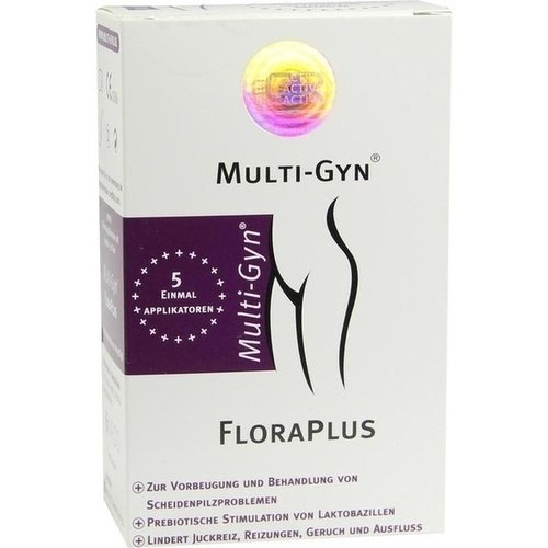 Multi Gyn FloraPlus Vaginalgel, 5x5 ml
