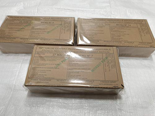 French Military Army 24hr Ration Pack MRE (Choose your menu or bundle) 1