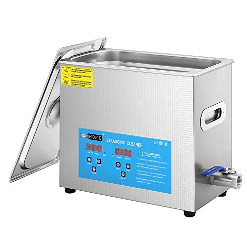 VIVOHOME Professional 6L Touch Controllable Ultrasonic Cleaner Machine with Digital Timer and Heater for Parts Jewelry Watch Coin Glass Circuit Board