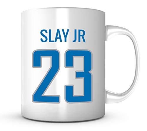 Darius Slay Jr Mug - Detroit Football Jersey Number 11 oz. Coffee Cup