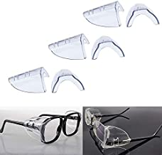 Side Shield for Safety Glasses Fits Most Safety Glasses 12 Pcs
