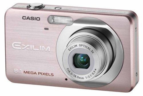 Casio EXILIM EX-Z80 PK Digitalkamera (8 Megapixel, 3-fach opt. Zoom, 2,6