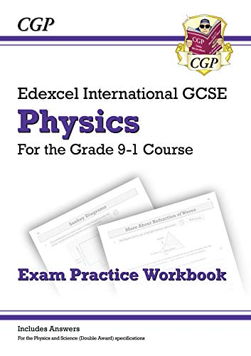 Book's Cover of New Grade 9-1 Edexcel International GCSE Physics: Exam Practice Workbook (includes Answers) (CGP IGCSE 9-1 Revision) (English Edition) Versión Kindle