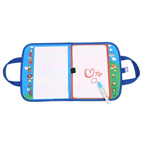 Wasser Zeichnung Matte mit Zauberstift Tragbare Rucksack Wasser Malerei Leinwand Pädagogische Wasser Malerei Bord Spielzeug für Kinder Jungen Mädchen