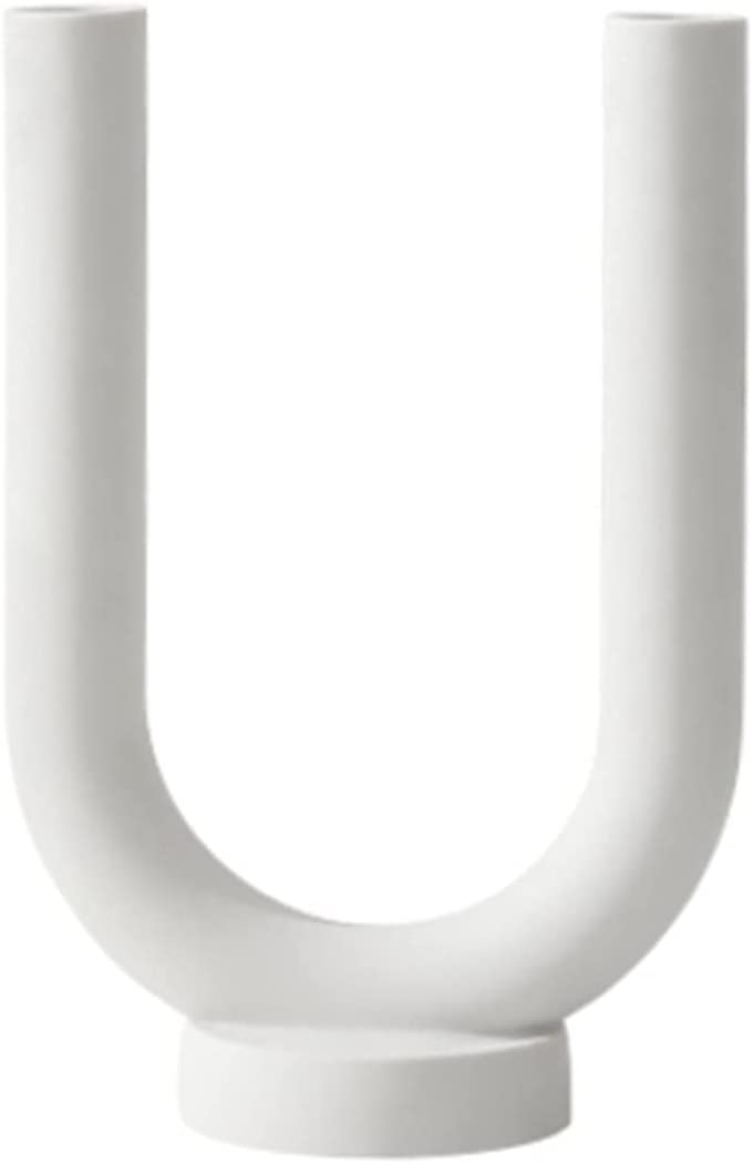 ZJHZ Candlestick Holder White Ceramic Mo Max 85% OFF Holders Limited price sale for