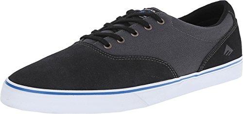 Emerica Provost Slim Vulcxtoy Machine Skate Shoe Black/Grey/Noir Taille 14.0