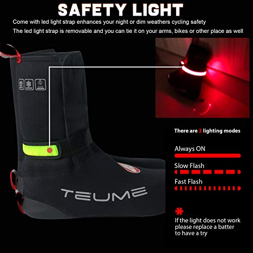 TEUME Bike Shoe Covers