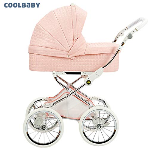 Purchase Royal Baby Stroller high Ldscape Newborn Baby Carriage Independent Sleeping Basket Two-Way ...