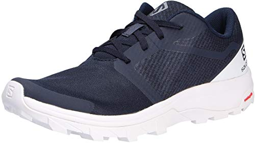 Salomon Outbound, Zapatillas de Senderismo Hombre, Color: Azul (Navy Blazer/White/White), 41 1/3...