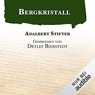 Bergkristall audiobook cover art