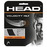HEAD Unisex-Erwachsene Velocity MLT Set Tennis-Saite, Black, 17