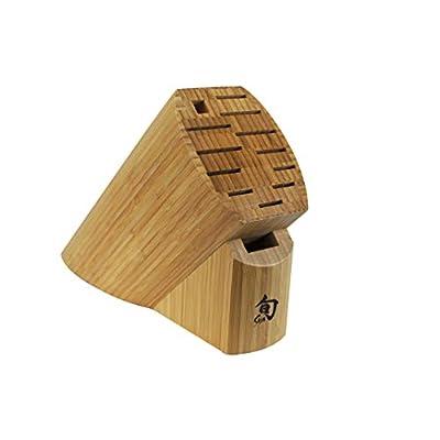 Shun DM0830 Bamboo 13-Slot Knife Block from Kershaw