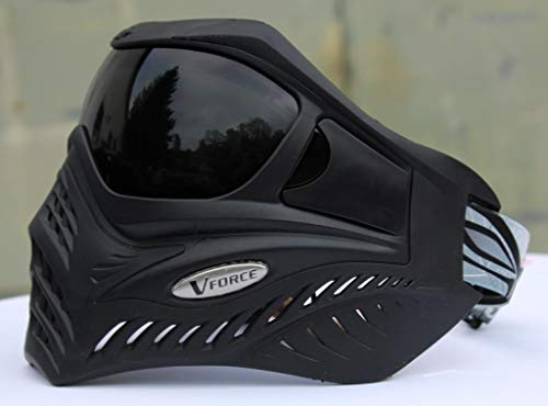 VForce Grill Paintball Maske Shadow Schwarz Dunkles Thermal Glas