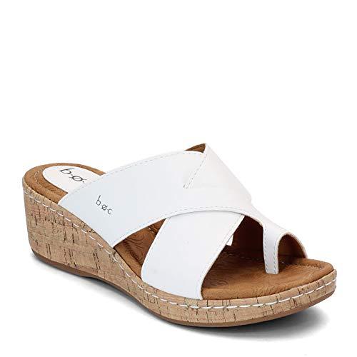 b.o.c. Women's, Summer II Sandal White 8 M