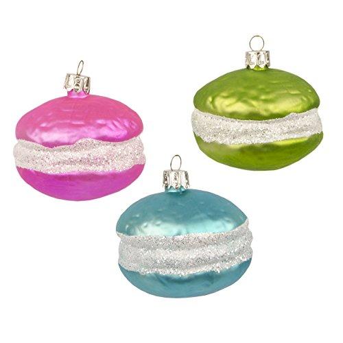 Palline Natale gioielli ciondolo set di Macaron chtis Albero Ciondolo