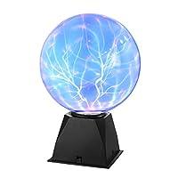 - Pedagogiczna kula plazmowa: może wytwarzać kolorowe strumienie energii elektrycznej, które tańczą na powierzchni i zapewnia dzieciom wspaniałe naukowe doświadczenie naukowe. - Fascynujący statyczny wyświetlacz elektryczny, który reaguje zarówno na ...
