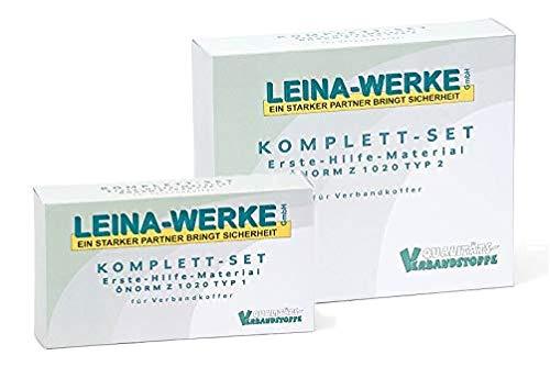 LEINAWERKE 39000 Erste Hilfe Füllung ÖNORM Z 1020 Typ I in Folientasche 1 Stk.