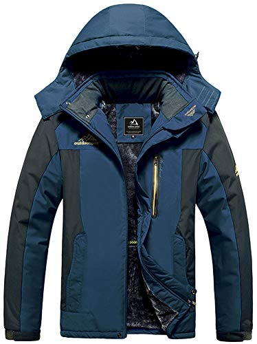 Softshelljacke Herren Wasserdicht Funktionsjacke Warm Fleecejacke Winddicht Skijacke Winterjacke Fleece Gefüttert Outdoorjacke Wasserdicht Arbeitsjacke Taschen Übergangsjacke Warme Schneejacke Hoodies