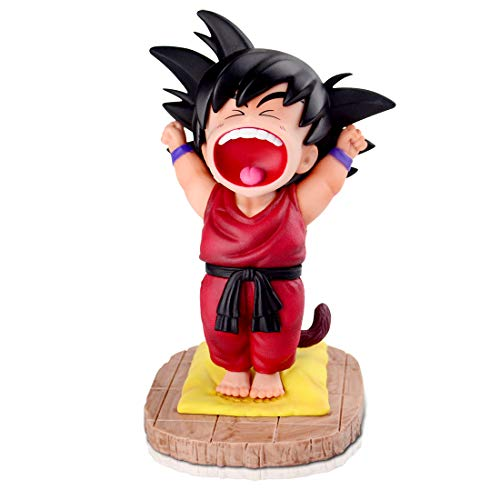 DBZ Action Figures GK Kid Goku Kakarotto Statue Doll Figurine Collectible Super Saiyan PVC Model Toy Best Gifts Home Car Office Decor (Red)