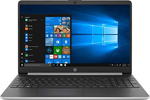 HP 15s-fq1024ns - Ordenador portátil de 15.6' FullHD (Intel Core i5-1035G1,8 GB de RAM, 512 GB SSD, Intel UHD Graphics, Windows 10 ) Plata Natural - teclado QWERTY Español