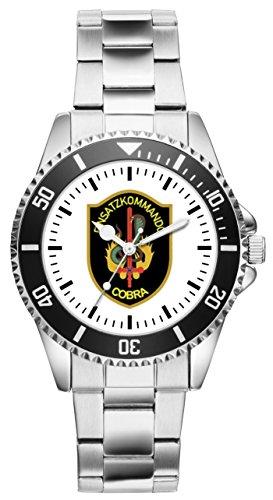 KIESENBERG Uhr - Geschenk für Polizei EKO Cobra Sondereinheit 1052