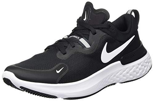 Nike React Miler, Scarpe da Corsa Uomo, Black/White-Dk Grey-Anthracite-Volt, 42.5 EU