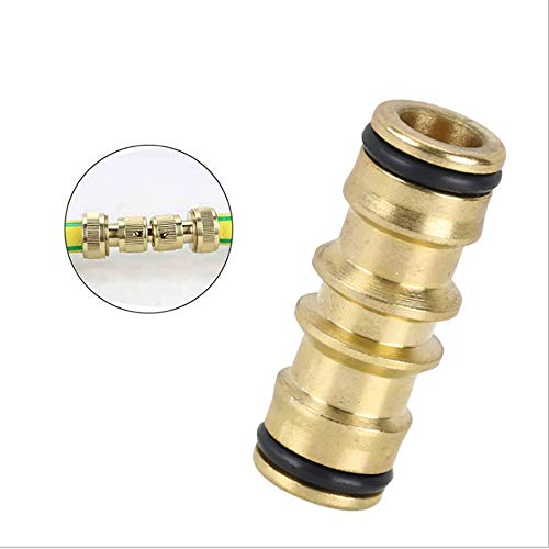 HXIANG Hot Selling 2 Manieren Snelle Koppeling Messing Tuinslang Reparatie Slang Mender Connector Adapter Voor Tuin Irrigatie