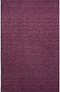 Jaipur Living Town Handloom Tribal Purple Area Rug (2' X 3')
