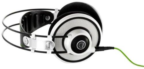 AKG Q 701 Quincy Jones Signature Reference-Class Premium Headphones (White)