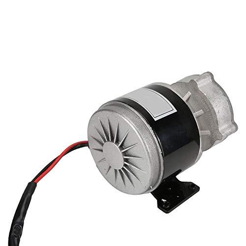 Alomejor Motor Eléctrico De Reducción De Engranajes con Piñón De 9 Dientes De CC 12v 250w para E-Bike Scooter