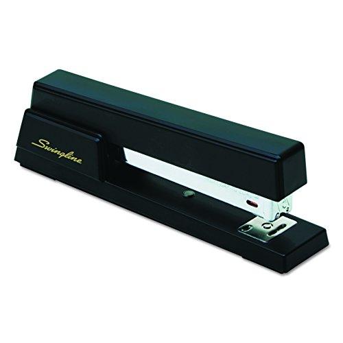 Swingline 76701 Premium Commercial Full Strip Stapler, 20-Sheet Capacity, Black