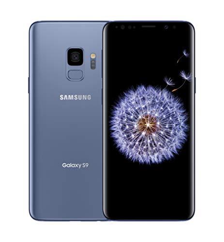 SAMSUNG Galaxy S9 Factory Unlocked Smartphone 64GB - Coral Blue - US Version [SM-G960UZBAXAA]