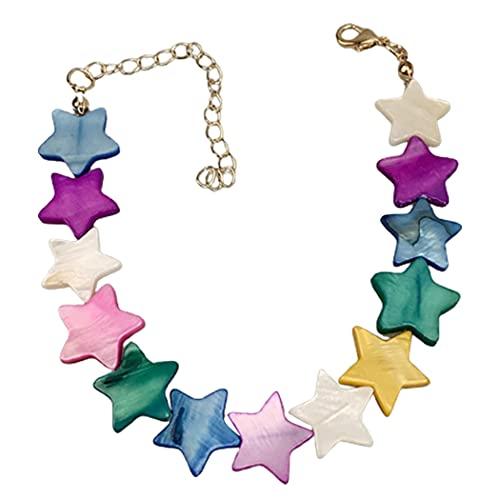 Lnrueg Joyas De Mujer Joyas Bohemio Pendientes De Gota Pulsera Delicadeza Collar De Clavícula Damas Decorativas Ligeras Ligeras Elegantes