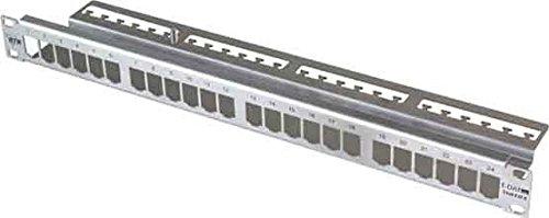 Unbekannt Metz Connect Patchfeld modul 24Port TN MPP24-Edst-leer 1HE Edelstahl leer Patchpanel Kupfer 4250184152347