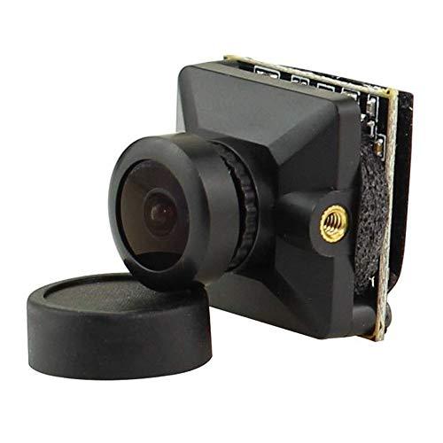 ZHITING Cámara Micro FPV 1200TVL Lente de 2.1 mm Personalizado 1/3 '' CMOS NTSC FOV 160 grados con WDR global para Tiny Whoop Racing Drone Like Beta85X