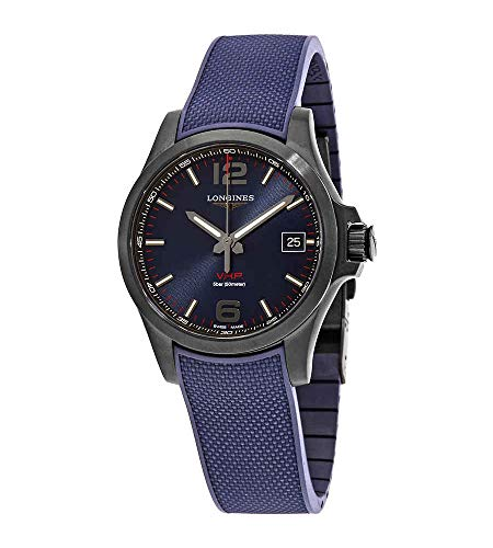 Longines Conquest V.H.P. Perpetuo cuarzo reloj de hombre con esfera azul L37162969