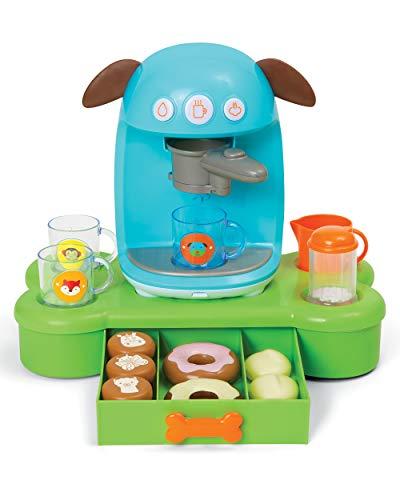 Skip Hop Zoo Bark-Ista Cafe Pretend Playset Toy, Mutli