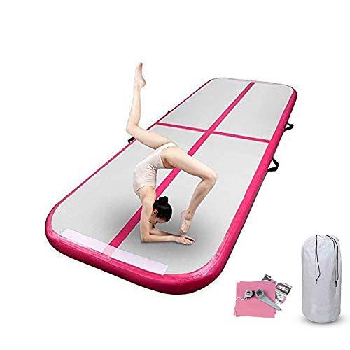 FBSPORT airtrack 10cm hoch Verdicken Aufblasbar Gymnastikmatte 3m AirTrack Matte für Gym Training Yogamatte Trainingsmatten Weichbodenmatte Turnmatte Fitnessmatte