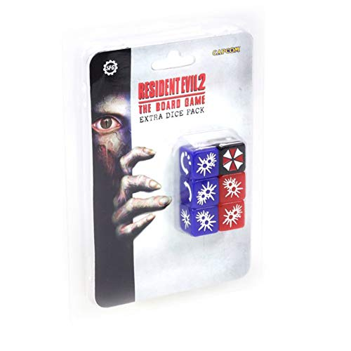 Steamforged Games Resident Evil 2 The Board Game Extra Dice Set Miniature...