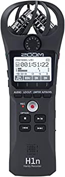 Zoom H1n Portable Recorder Onboard Stereo Microphones Camera Mountable Records to SD Card Compact USB Microphone Overdubbing Dictation For Recording Music Audio for Video and Interviews