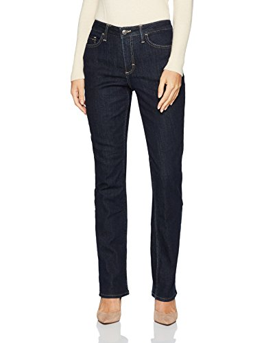 Riders by Lee Indigo Women's Fleece Lined Slim Straight...