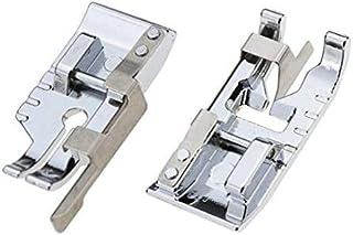 Singer Babylock Kenmore y White Low Shank Juego de 72 prensatelas para m/áquina de coser dom/éstica Toyota Elna Necchi Janome para m/áquinas de coser Brother New Home Simplicity